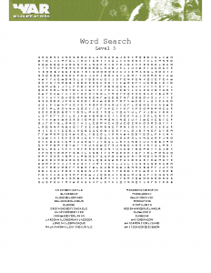 Word search (level 3)