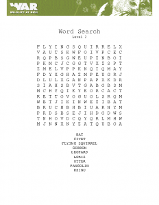 Word search (level 2)